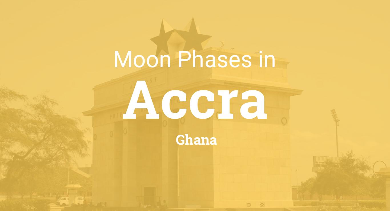 Moon Phases 2019 – Lunar Calendar for Accra, Ghana