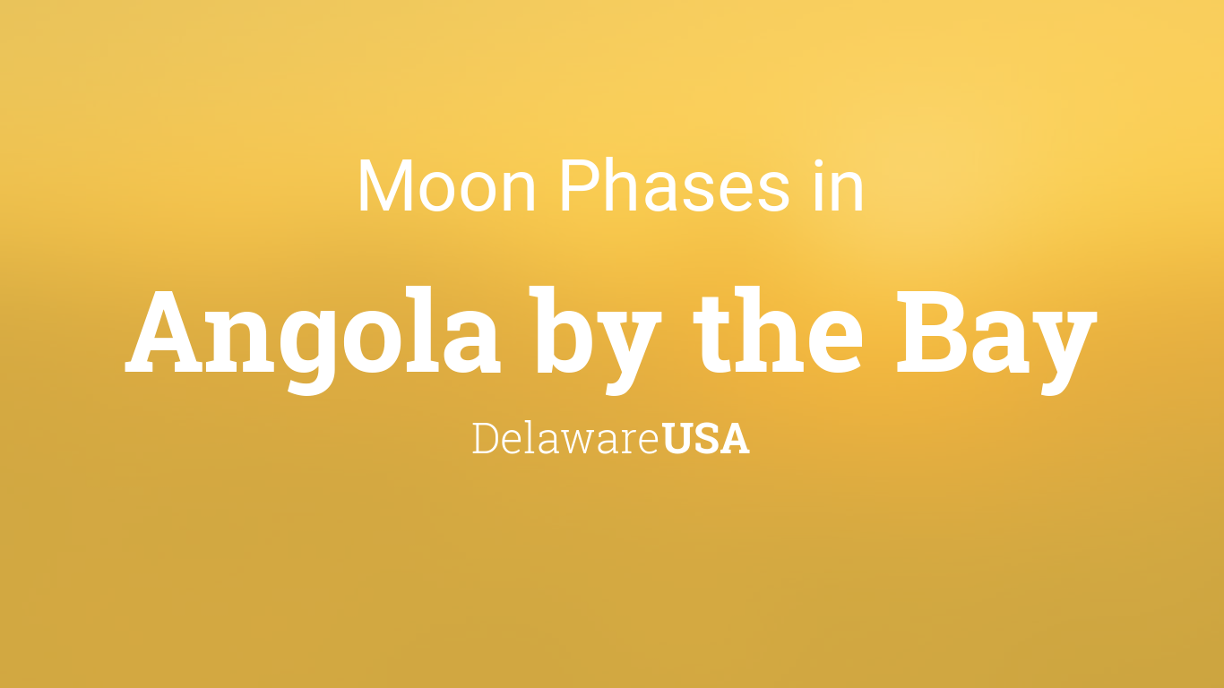 Moon Phases 2019 – Lunar Calendar for Angola by the Bay