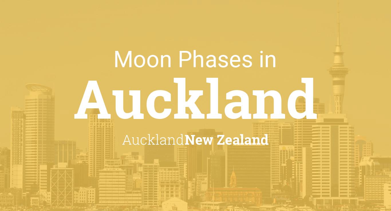 Moon Phases 2019 – Lunar Calendar for Auckland, Auckland ...