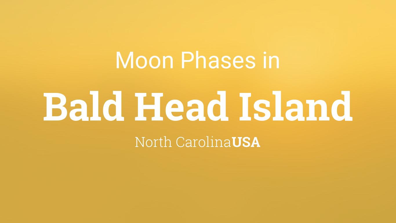Moon Phases 2018 Lunar Calendar For Bald Head Island North