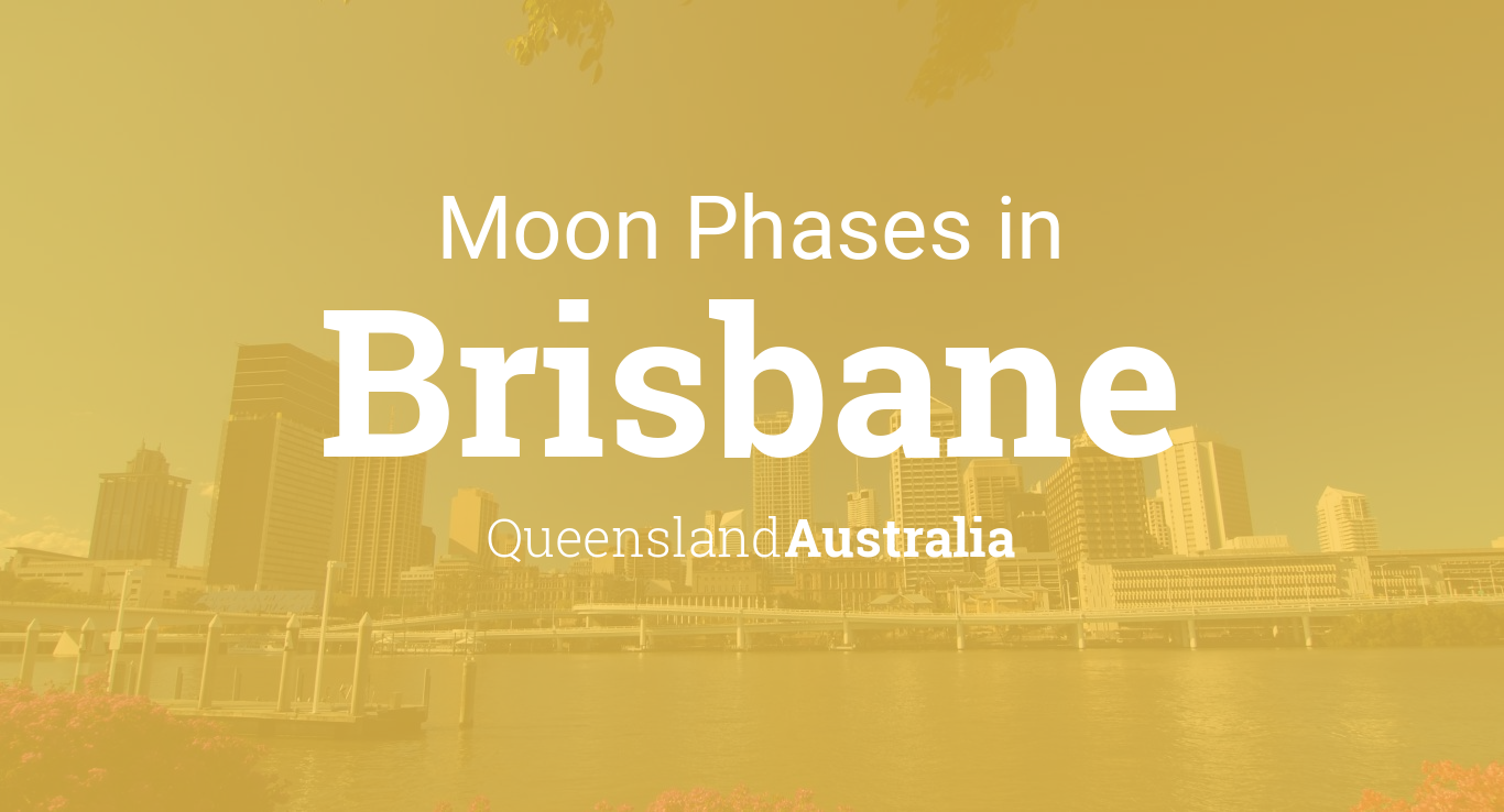 Calendar Queensland Monthly : Moon phases lunar calendar for brisbane queensland