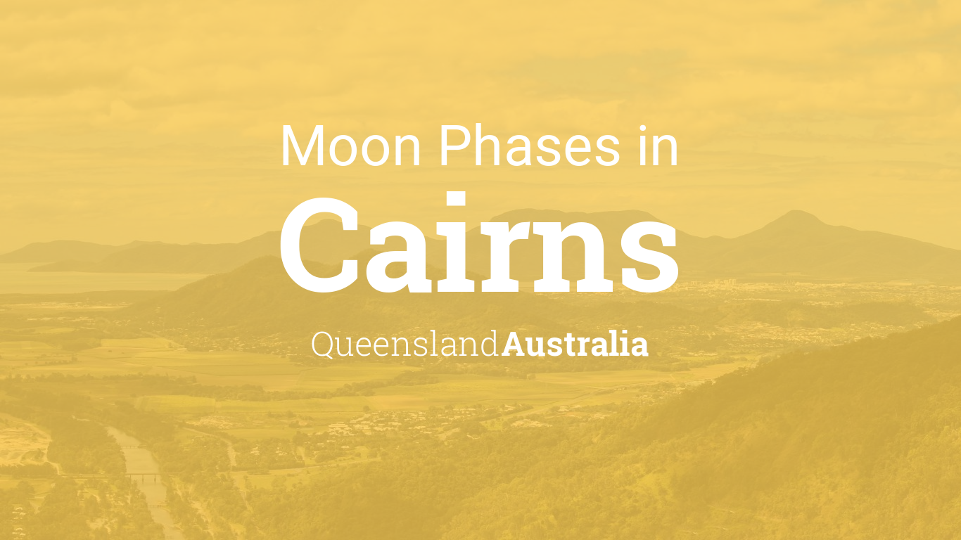 Calendar Queensland Monthly : Moon phases lunar calendar for cairns queensland