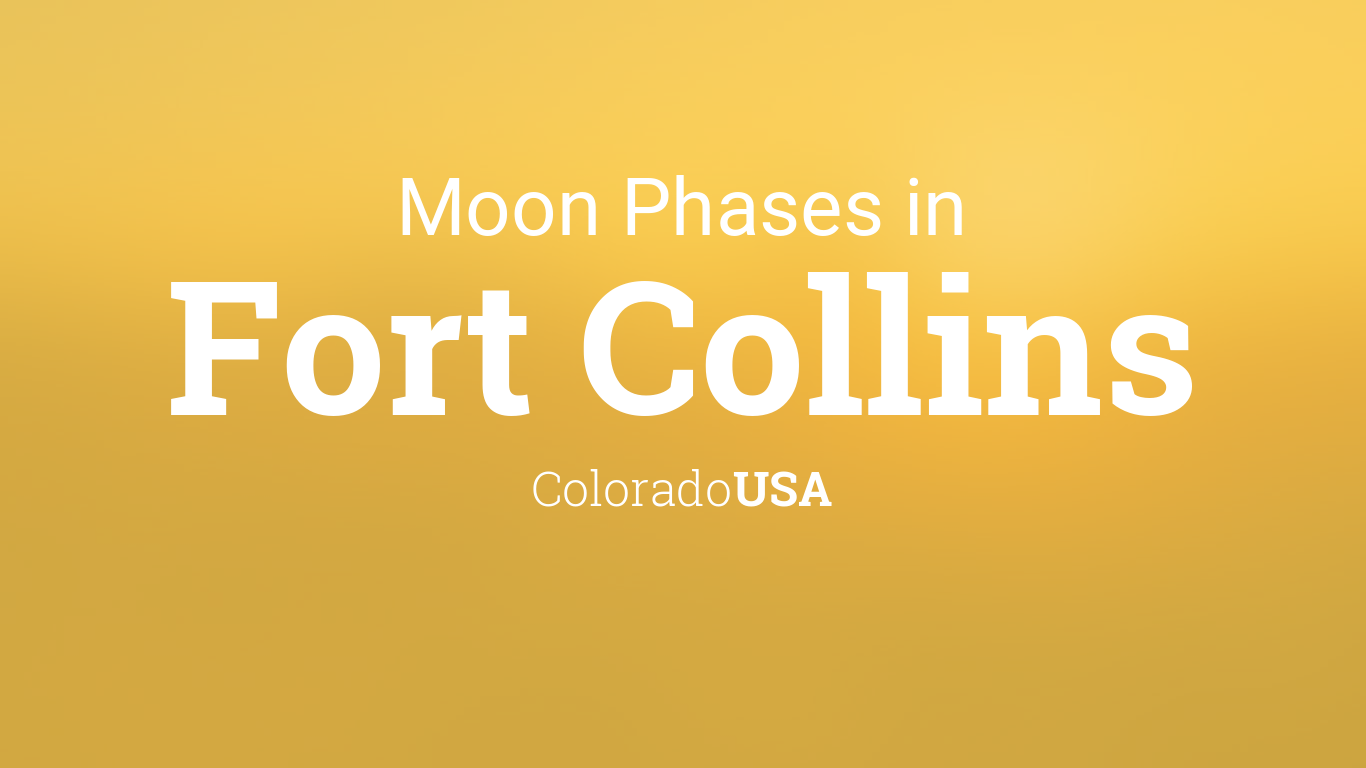 Moon Phases 2018 – Lunar Calendar for Fort Collins ...