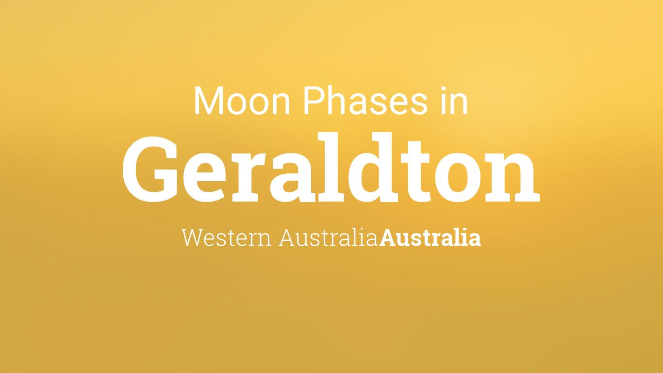 Moon Phases 2019 – Lunar Calendar for Geraldton, Western Australia, Australia