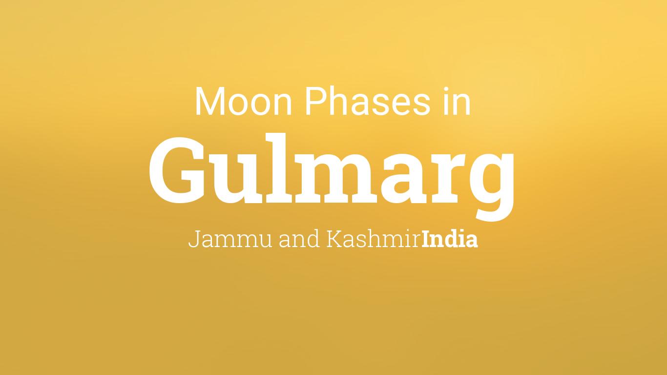 Calendar Jammu : Moon phases lunar calendar for gulmarg jammu and