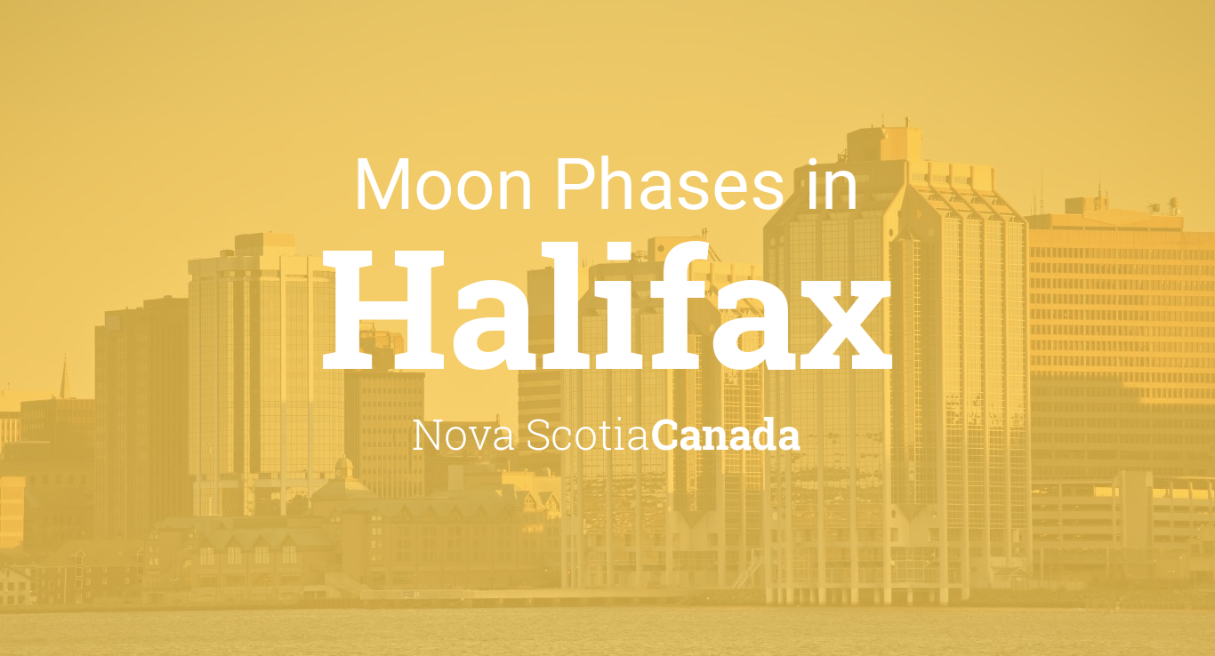 Moon Phases 2019 Lunar Calendar For Halifax Nova Scotia Canada Phase Diagram Printable Chart