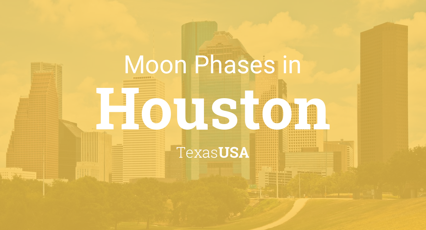 April Calendar Houston : Moon phases lunar calendar for houston texas usa