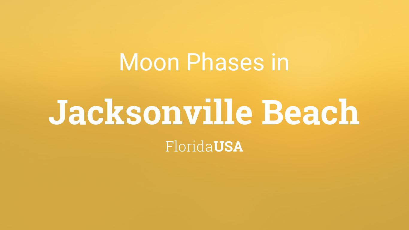 moon phases 2018 lunar calendar for jacksonville beach florida usa. Black Bedroom Furniture Sets. Home Design Ideas