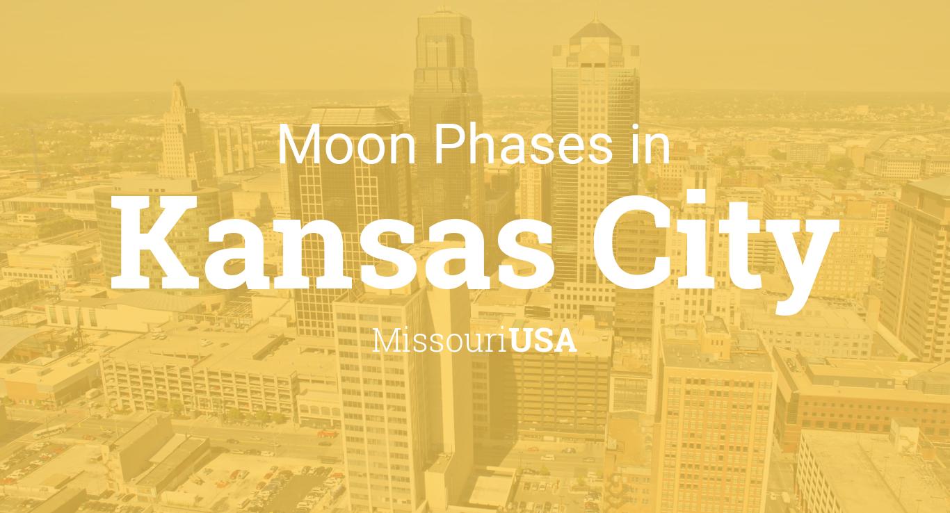 Moon Phases 2019 – Lunar Calendar for Kansas City, Missouri, USA