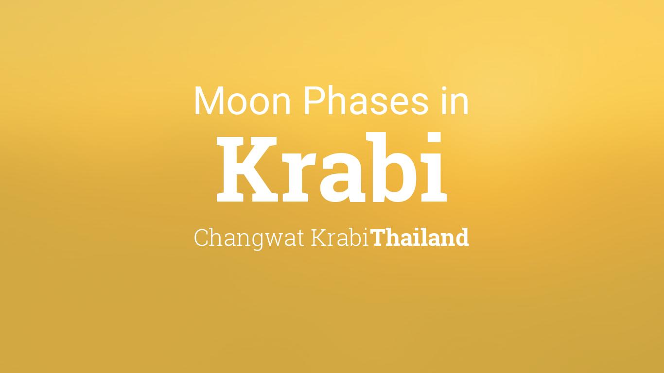 Moon Calendar February 2019 Krabi Thailand Moon Phases 2019 – Lunar Calendar for Krabi, Changwat Krabi, Thailand