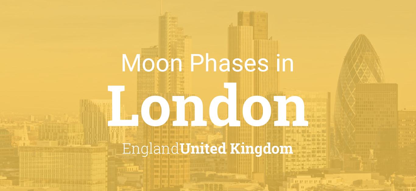 Moon Phases 2019 – Lunar Calendar for London, England, United Kingdom