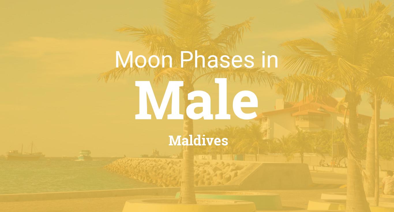 Moon Phases 2018 Lunar Calendar For Male Maldives Phase Diagram 3