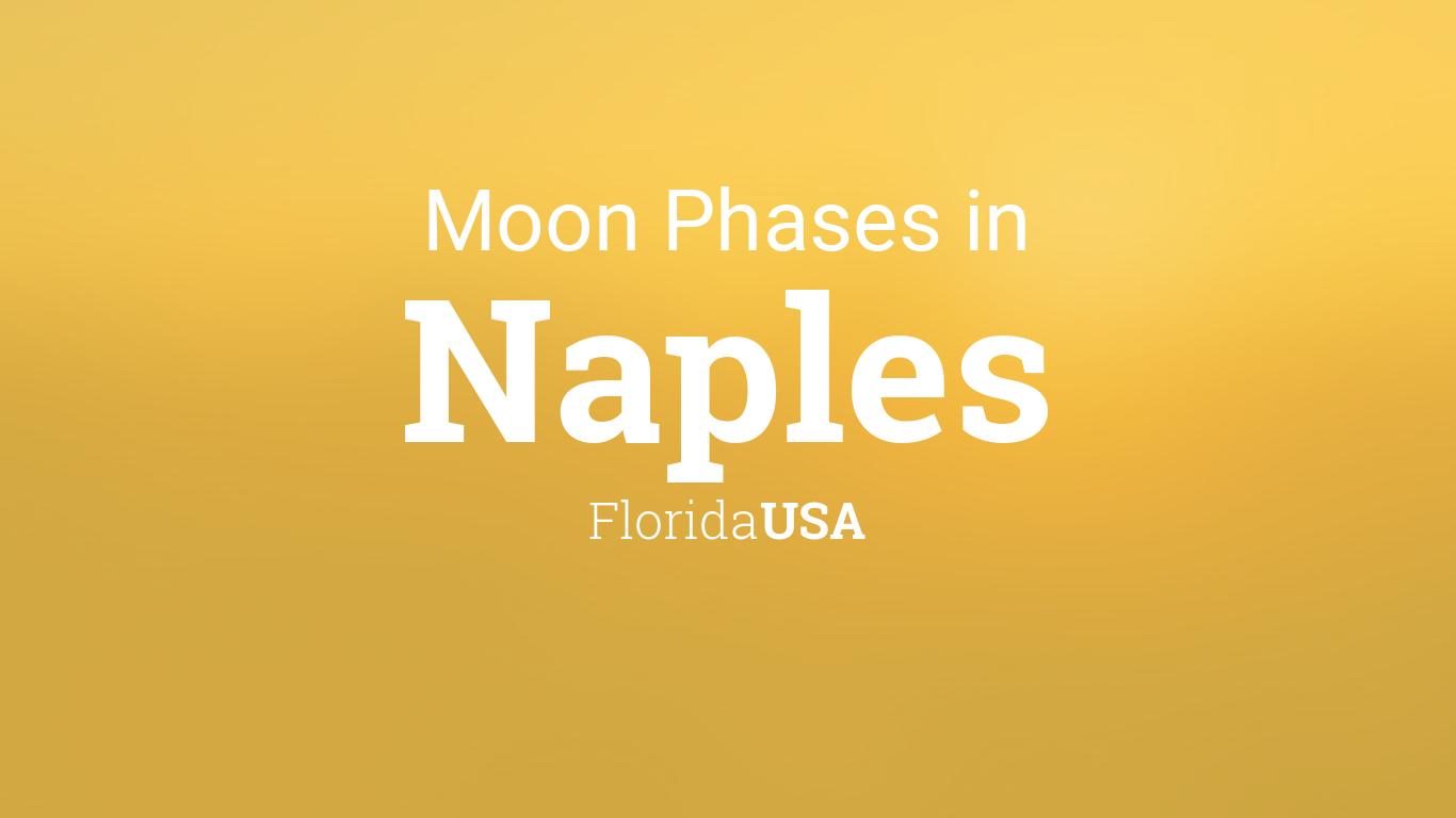 Moon Phases 2019 – Lunar Calendar for Naples, Florida, USA