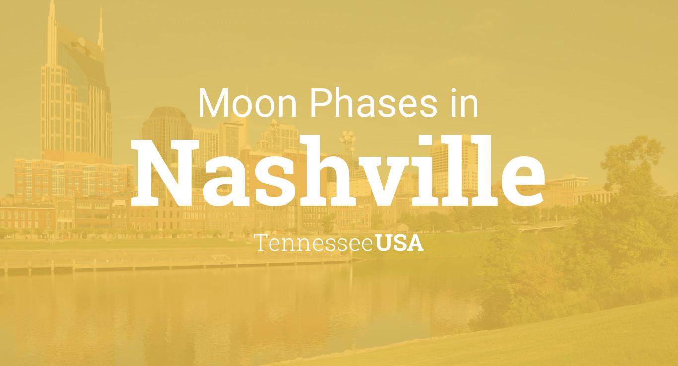 April Calendar Nashville : Moon phases lunar calendar for nashville tennessee