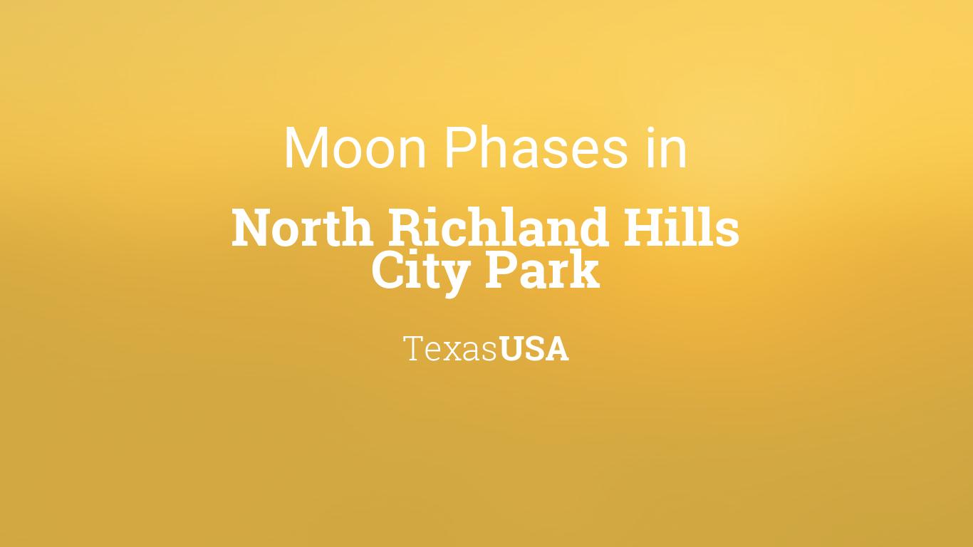Moon Phases 2019 – Lunar Calendar for North Richland Hills