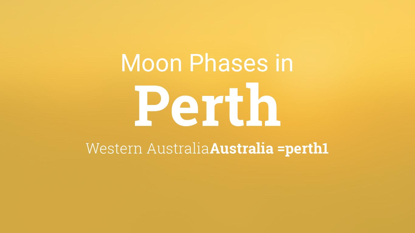moon phases 2017 lunar calendar for perth western australia australia. Black Bedroom Furniture Sets. Home Design Ideas