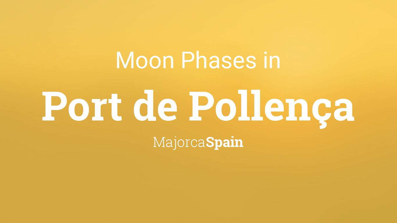 Moon Phases 2019 – Lunar Calendar for Port de Pollença