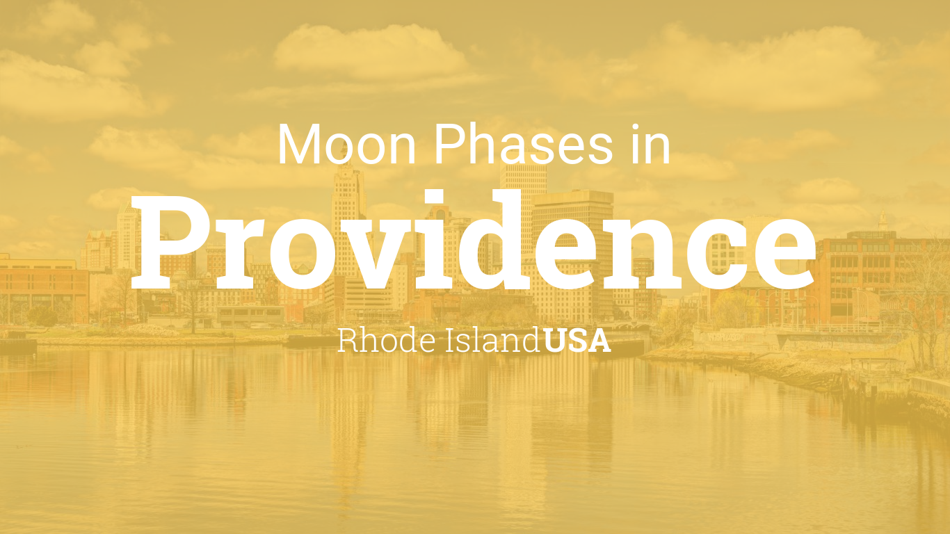 Moon phases 2018 lunar calendar for providence rhode island usa geenschuldenfo Image collections