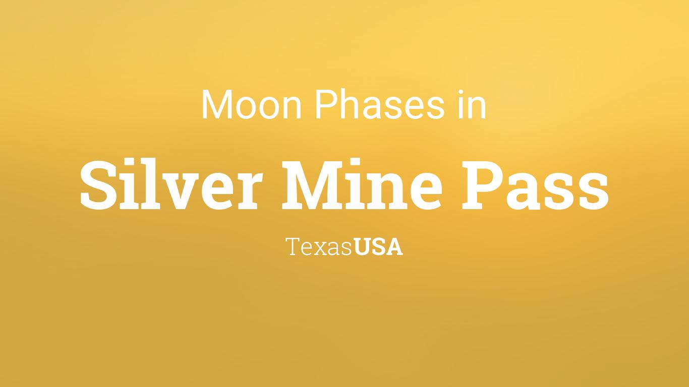 Moon Phases 2019 – Lunar Calendar for Silver Mine Pass