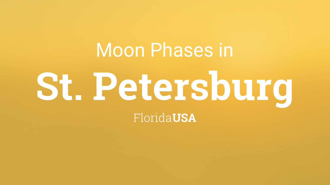 Moon Phases 2019 – Lunar Calendar for St. Petersburg ...