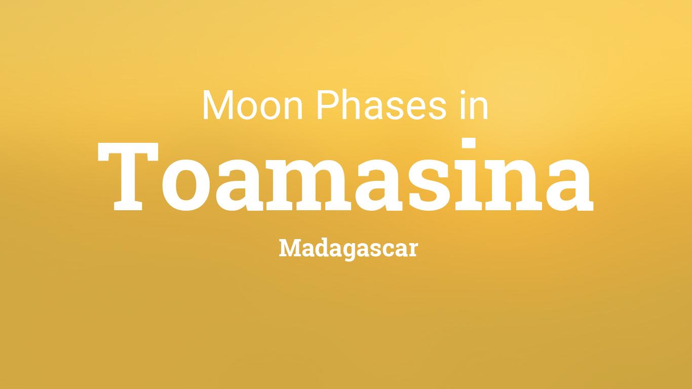 Moon Phases 2019 – Lunar Calendar for Toamasina, Madagascar
