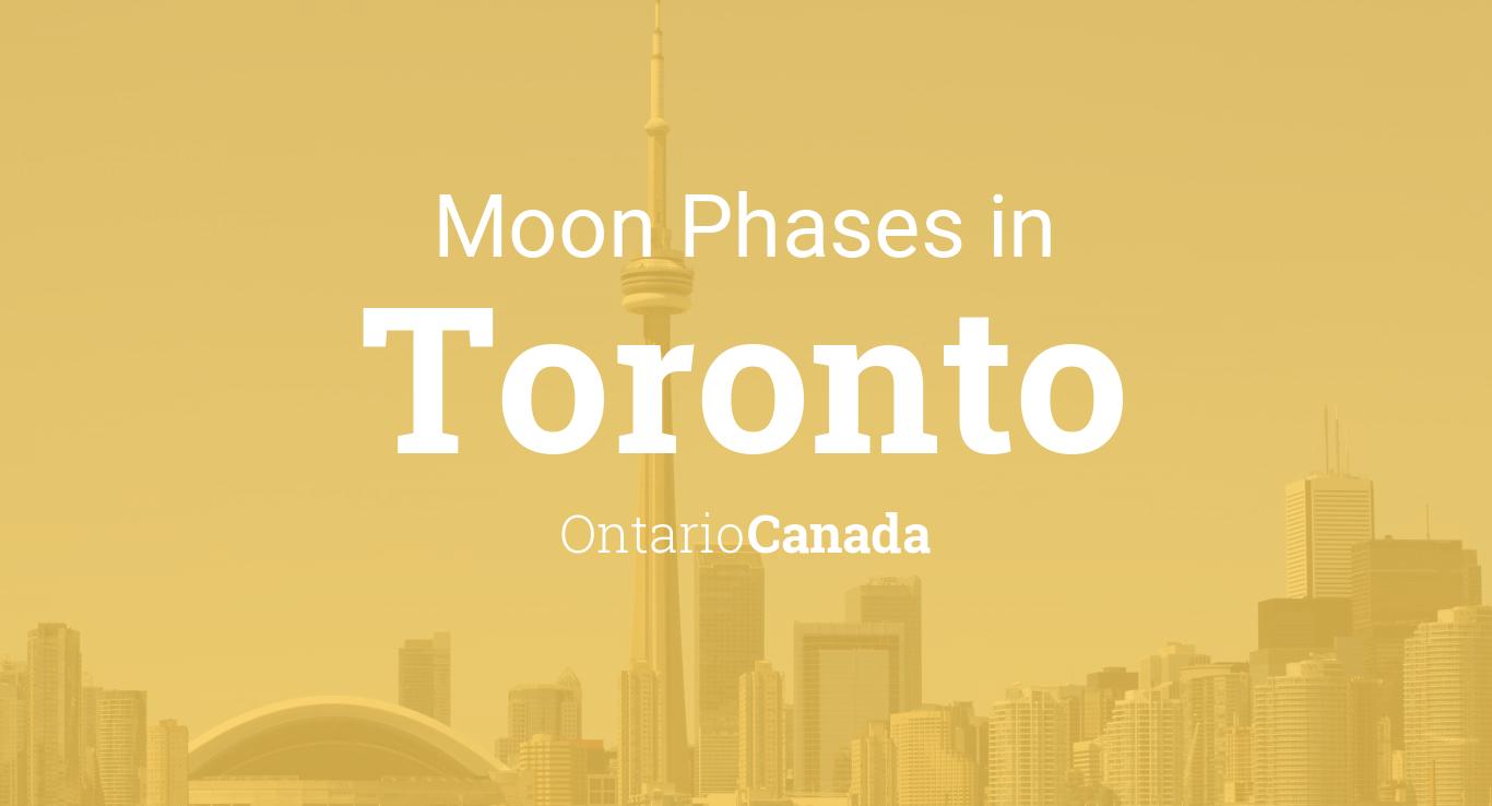 Calendar Planner Php : Moon phases lunar calendar for toronto ontario canada