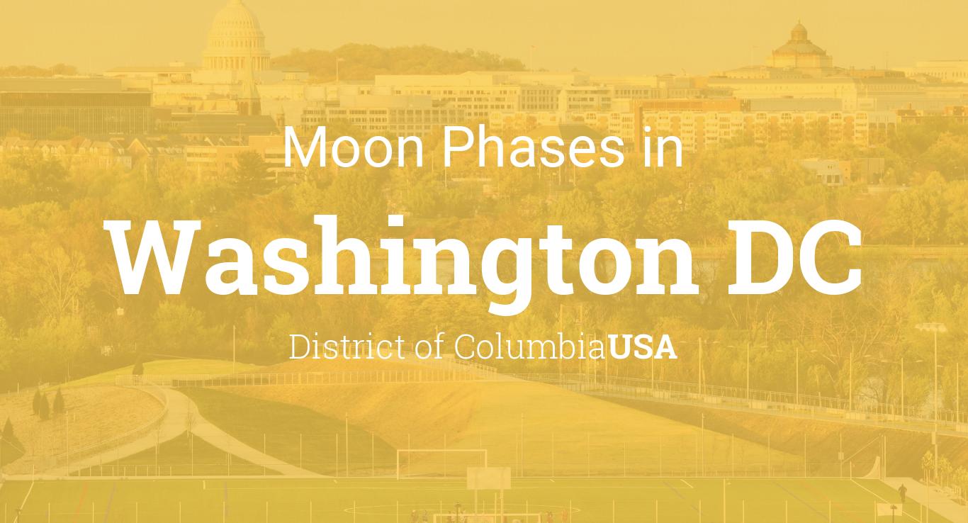 Moon Phases 2019 – Lunar Calendar for Washington DC ...