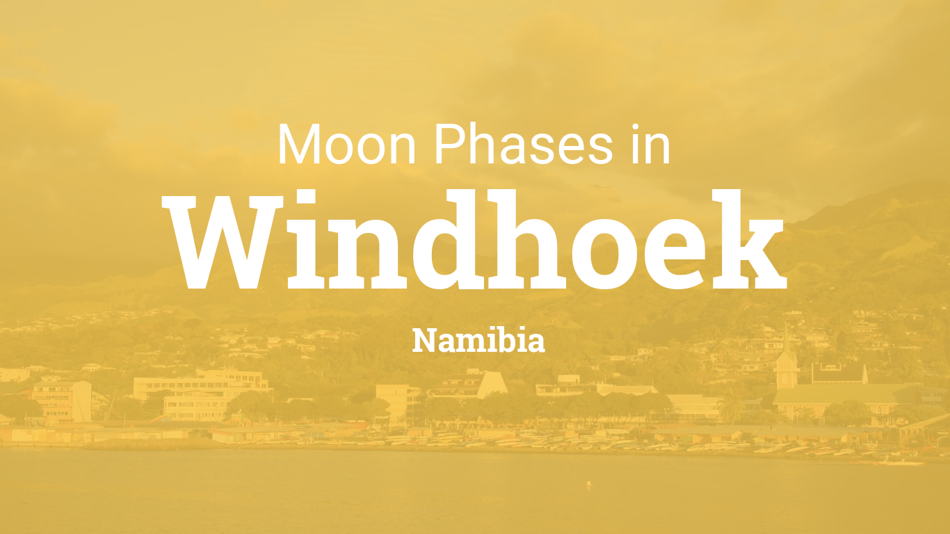 Calendario Lunare 1988.Moon Phases 2019 Lunar Calendar For Windhoek Namibia