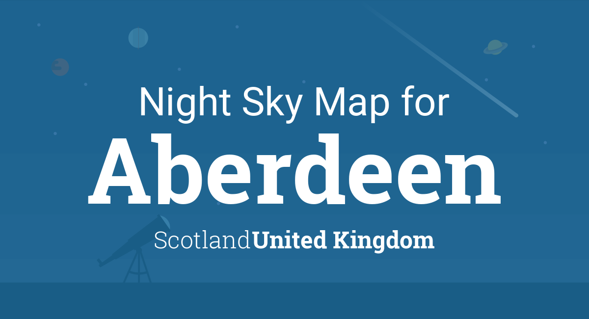 21d82dcd8a995 Night Sky Map   Planets Visible Tonight in Aberdeen