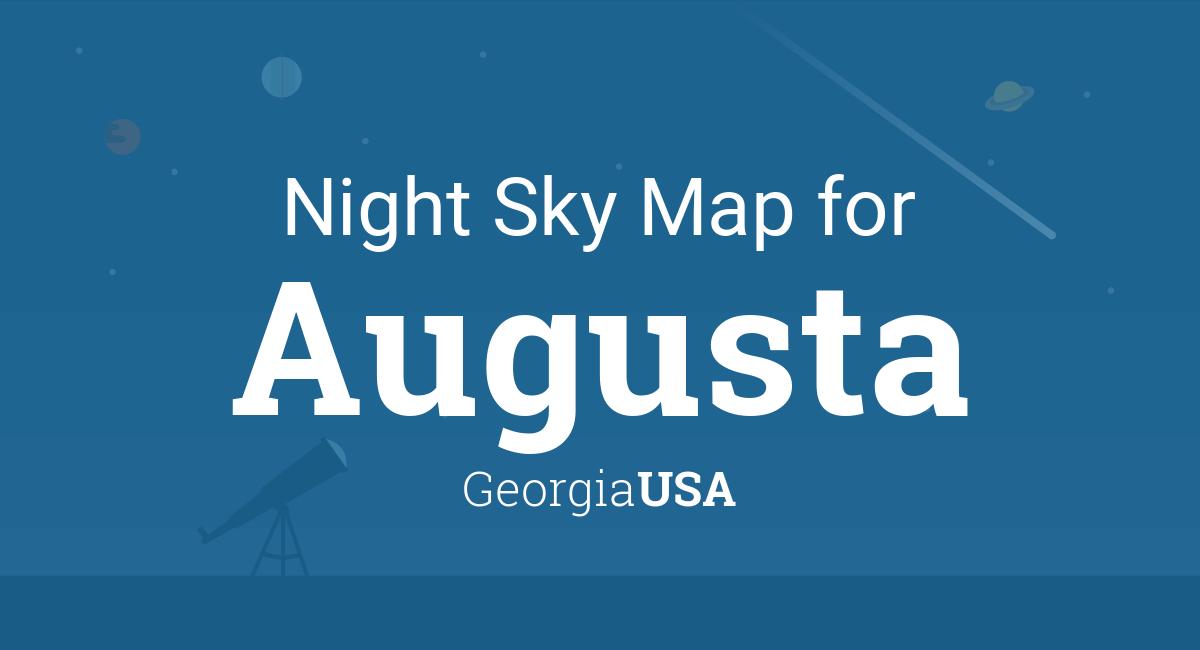 Night Sky Map & Planets Visible Tonight in Augusta on athens georgia map usa, dallas texas map usa, montgomery alabama map usa, philadelphia pennsylvania map usa, birmingham alabama map usa, oakland california map usa, georgia road map of usa, minneapolis minnesota map usa, erie pennsylvania map usa, richmond virginia map usa, pittsburgh pennsylvania map usa, new orleans louisiana map usa, aurora colorado map usa, austin texas map usa, augusta ga, houston texas map usa, savannah georgia map usa, louisville kentucky map usa, salt lake city utah map usa, anchorage alaska map usa,