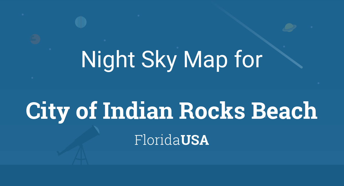 Night Sky Map & Planets Visible Tonight in City of Indian