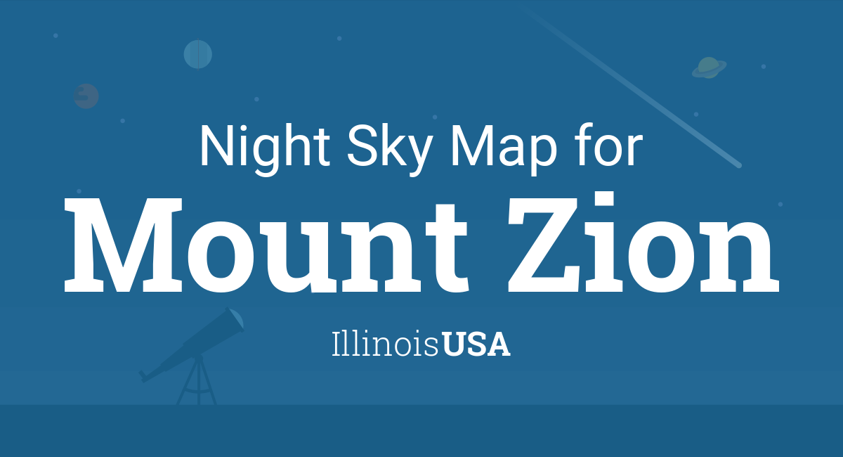 Night Sky Map & Planets Visible Tonight in Mount Zion on mcnabb illinois map, city of monticello illinois map, highwood illinois map, mt prospect illinois map, lake in the hills illinois map, bethalto illinois map, steward illinois map, old shawneetown illinois map, west chicago illinois map, highland park map, i 80 illinois map, illinois illinois map, scott air force base illinois map, racine illinois map, wood dale illinois map, timewell illinois map, east st louis illinois map, red illinois map, witt illinois map, cullom illinois map,