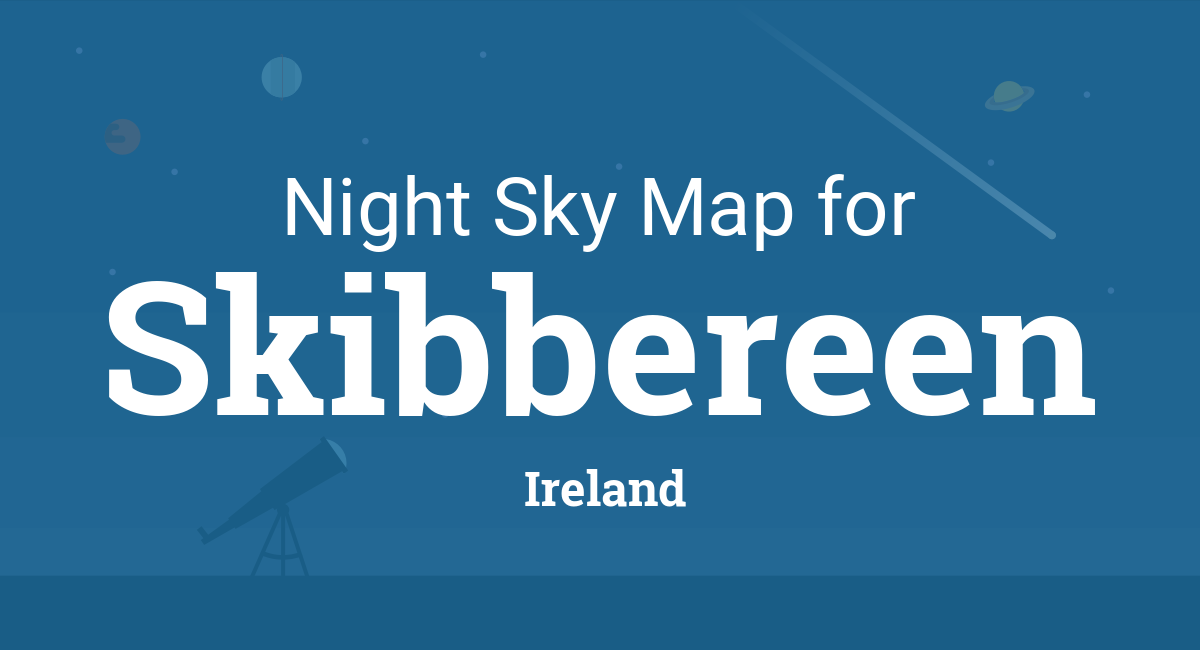 Skibbereen Ireland Map.Night Sky Map Planets Visible Tonight In Skibbereen
