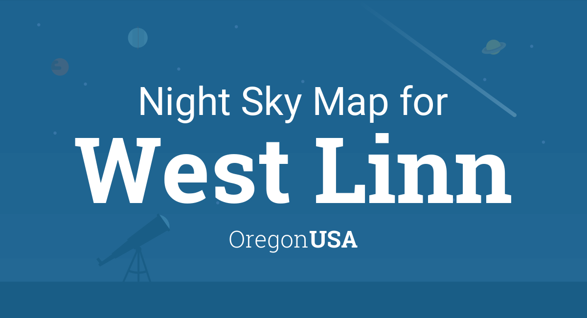 Night Sky Map Planets Visible Tonight In West Linn