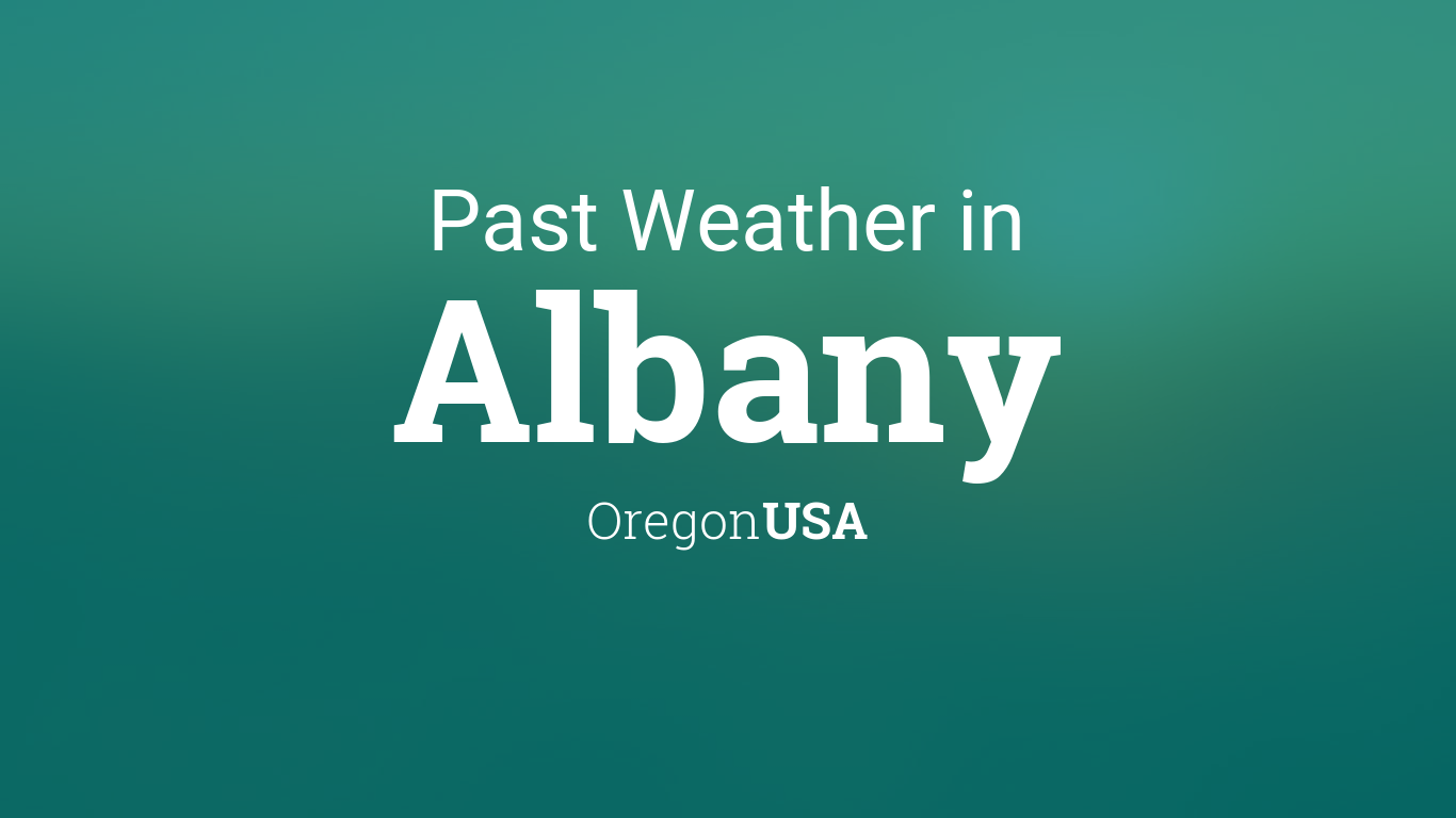 weather for albany oregon