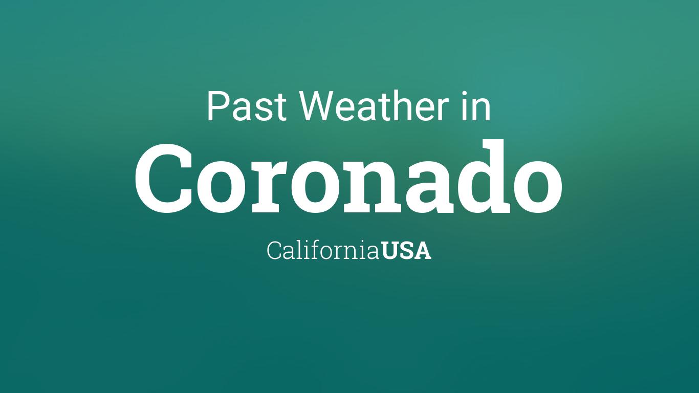 weather in coronado california in april