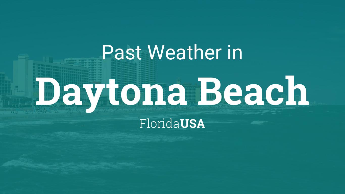 Hour By Hour Weather Daytona Beach Florida