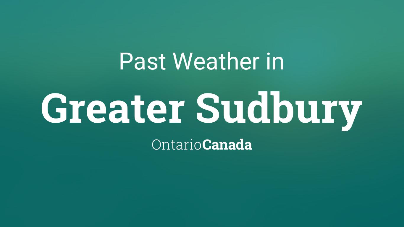 Speed datation Sudbury Ontario