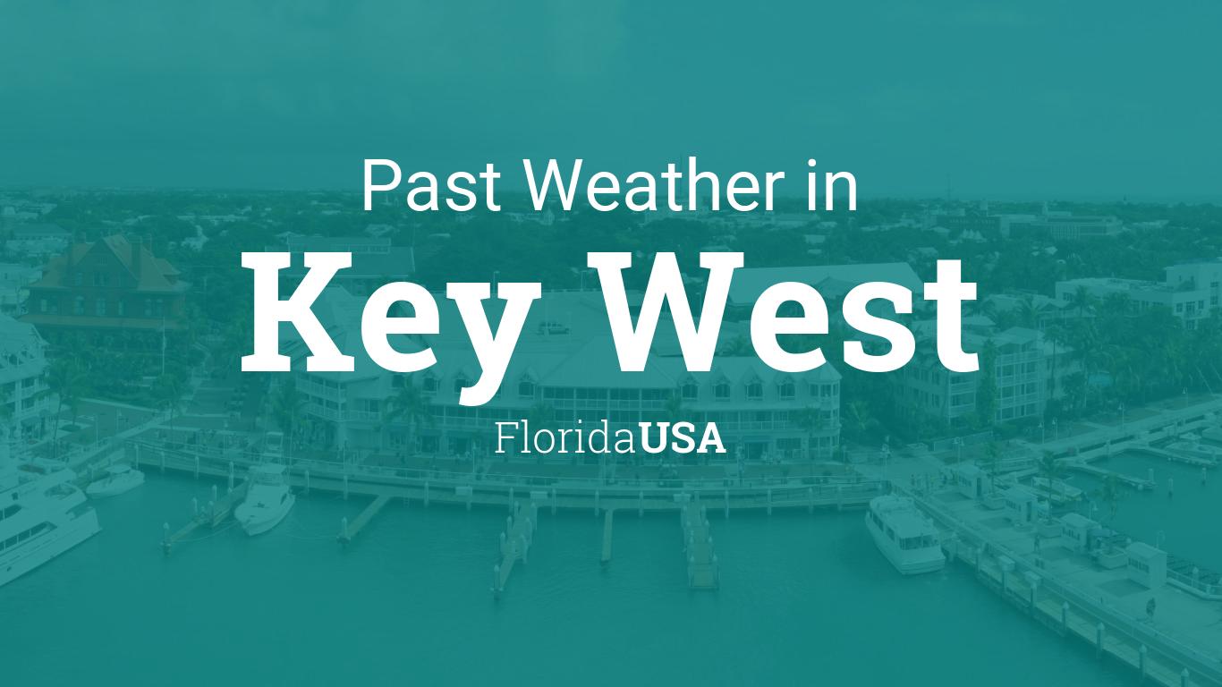 temp in florida keys today