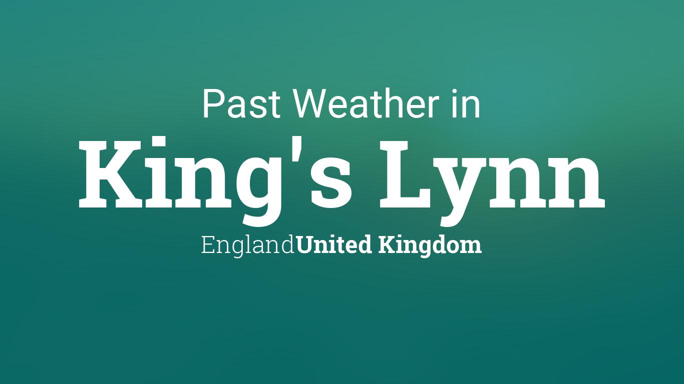 past weather in king 39 s lynn england united kingdom. Black Bedroom Furniture Sets. Home Design Ideas