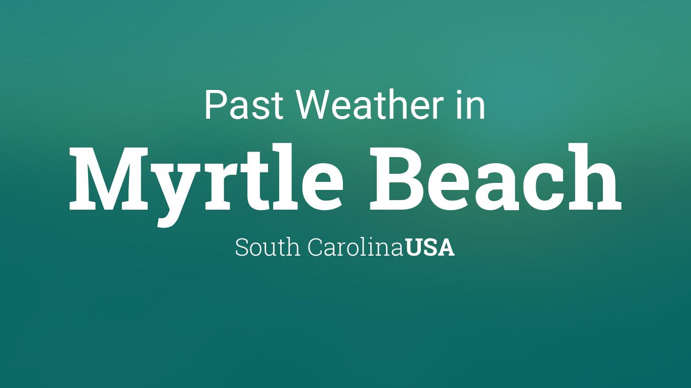 Weather In March 2016 Myrtle Beach