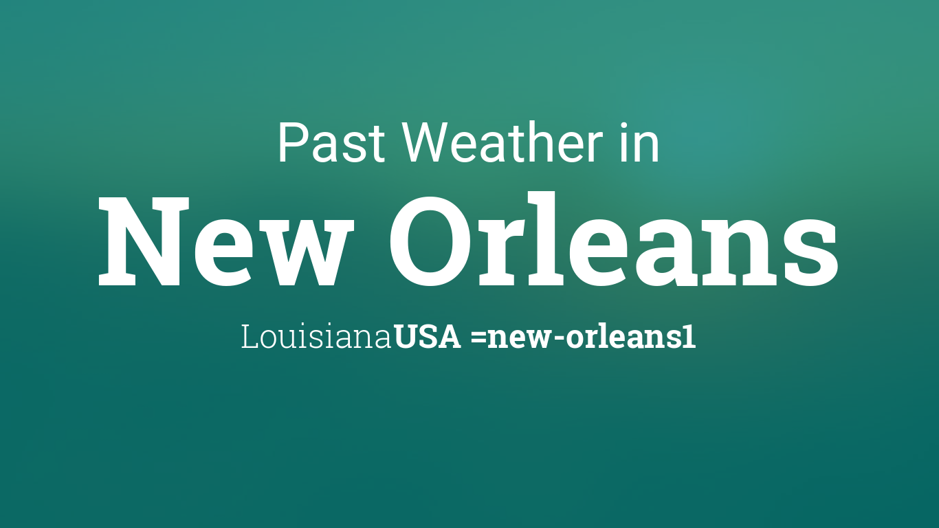 New Orleans Weather