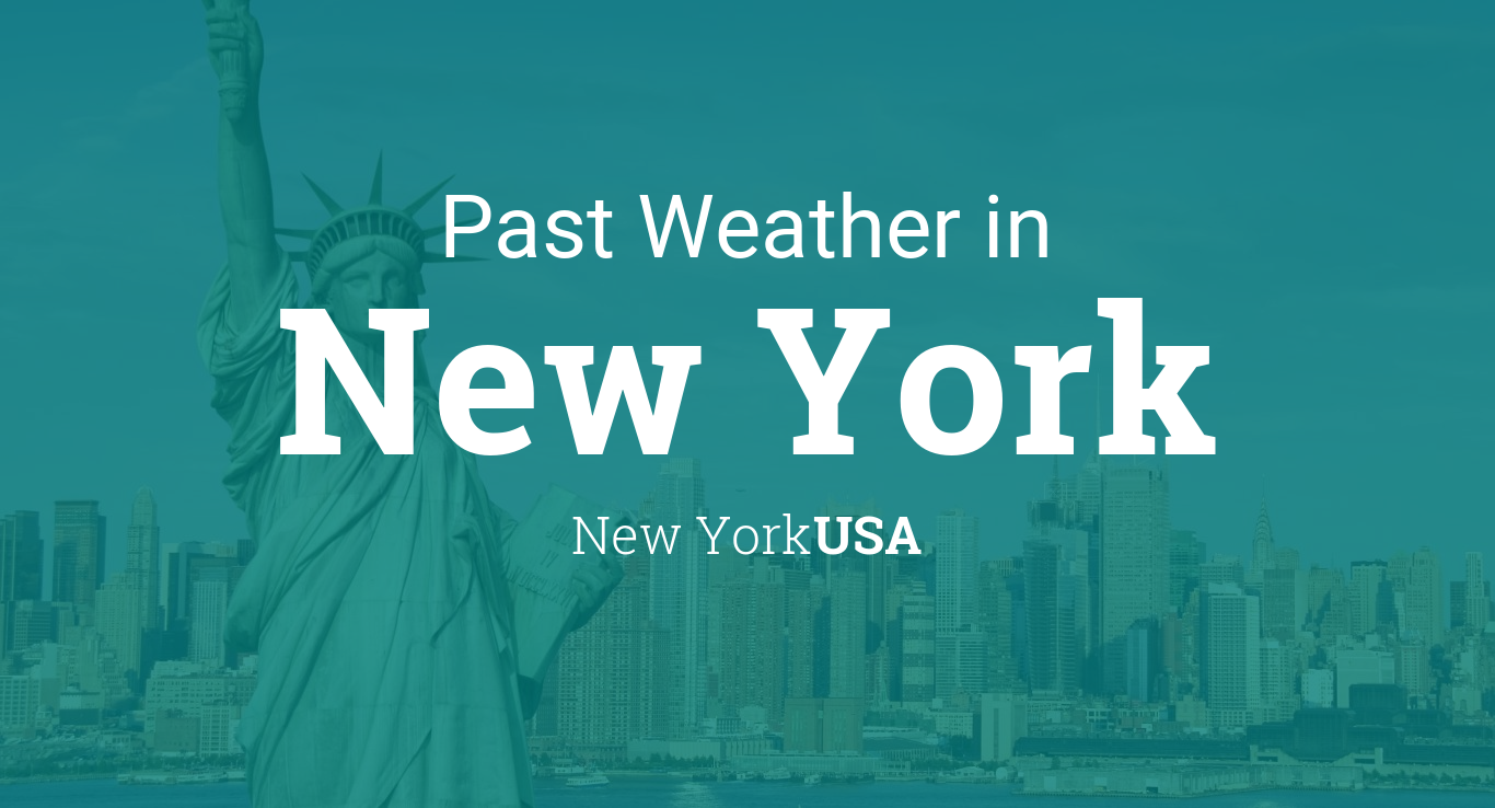 Past Weather In New York New York USA Yesterday Or Further Back - Us weather map past week