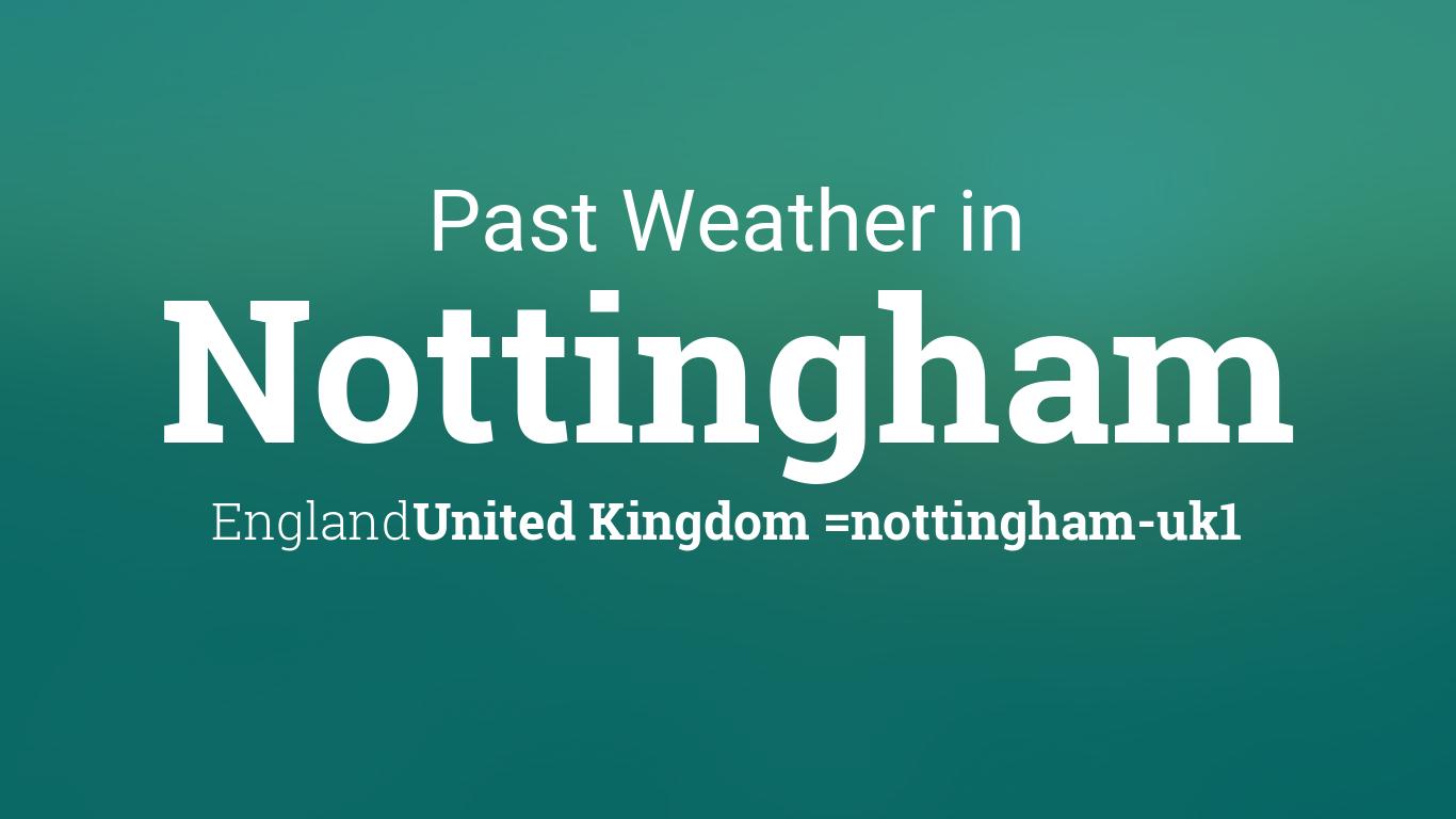 nottingham weather - photo #7