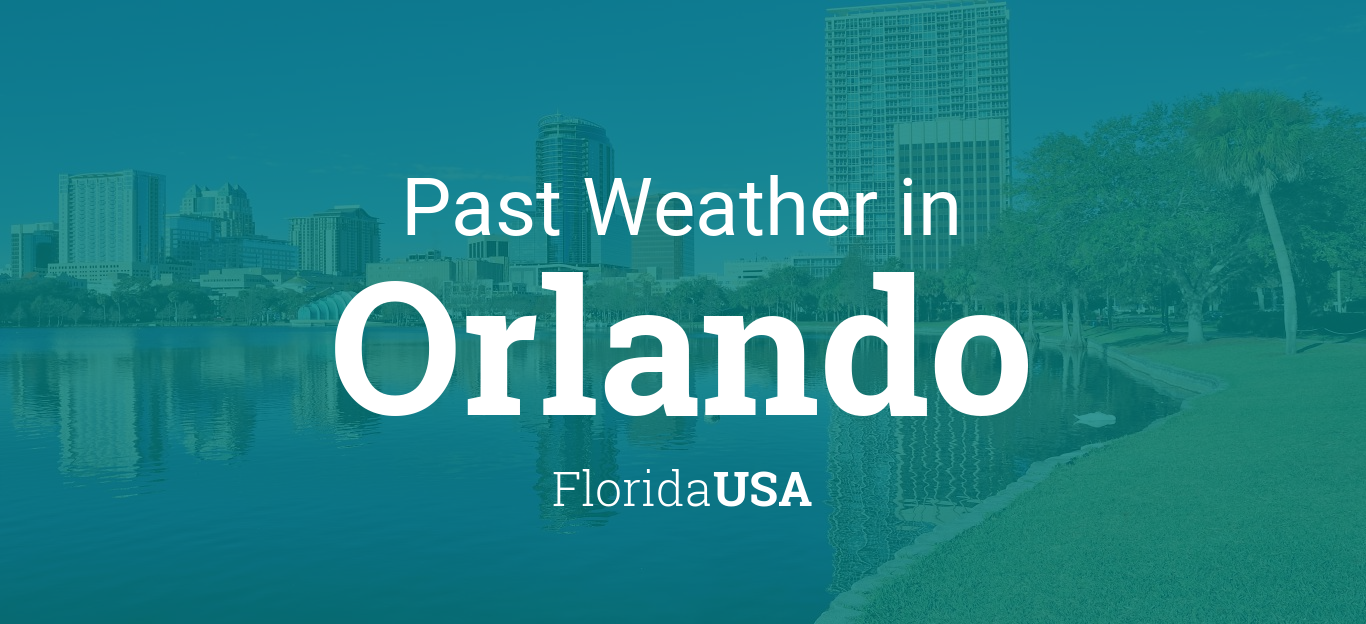Weather in November 2017 in Orlando, Florida, USA