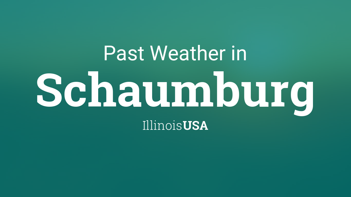 22+ Weather Schaumburg Il Monthly