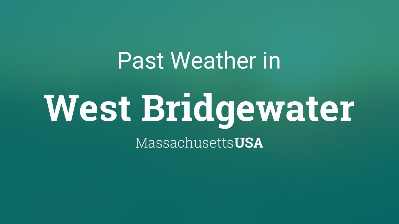 weather west bridgewater ma