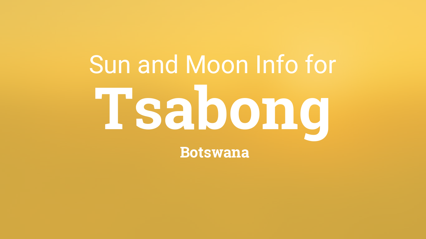 Tshabong City