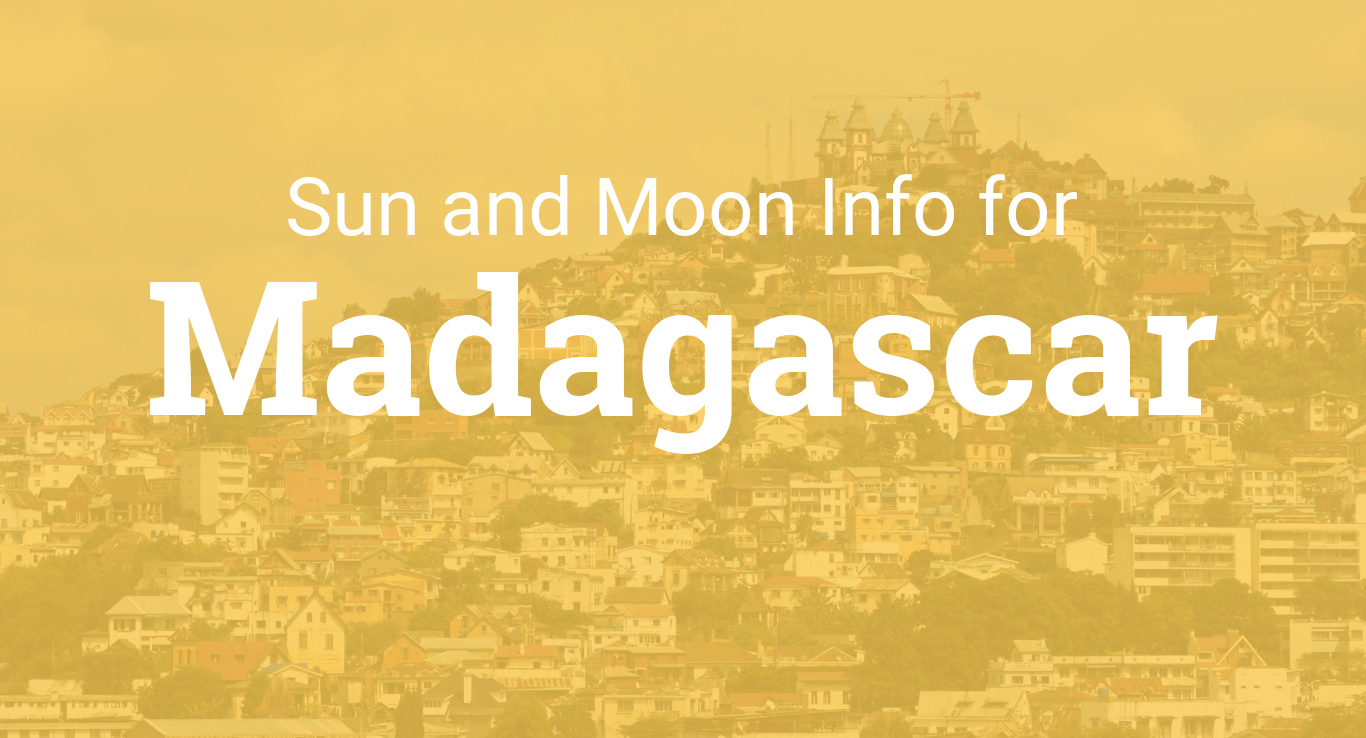 Sunrise and Sunset in Madagascar