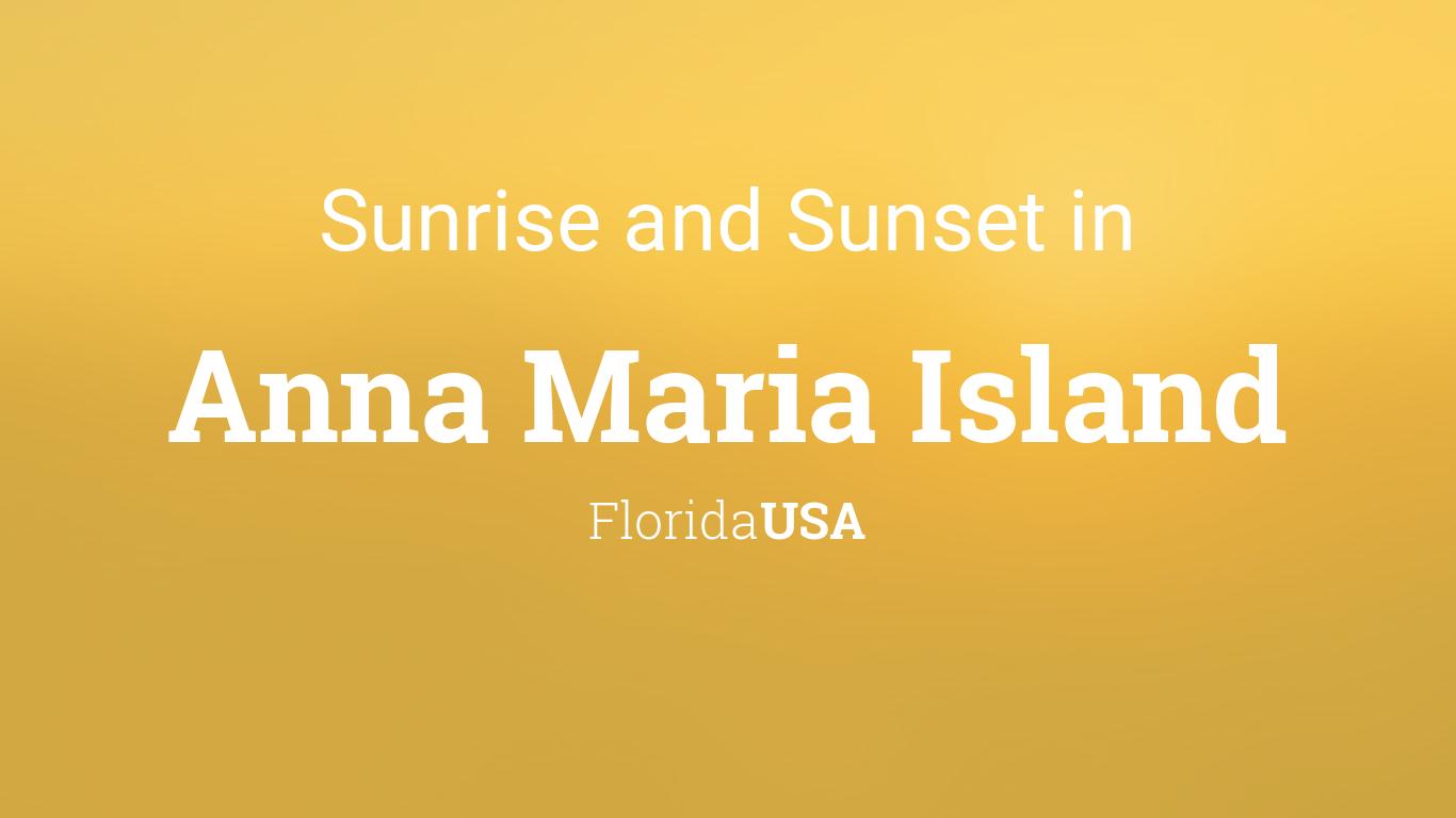 Anna Maria Island December 2020 Calendar Sunrise and sunset times in Anna Maria Island